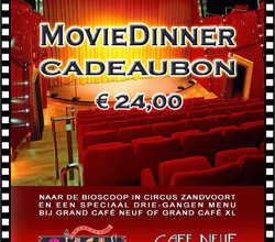 MovieDinner Cadeaubon